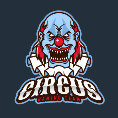 Logo Maker Featuring an Evil Clown 383cc-2363