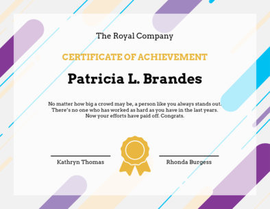 Placeit - Student of the Year Certificate Template