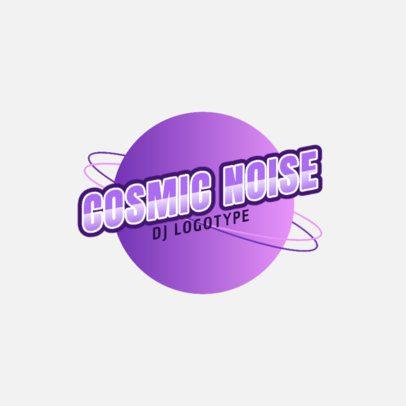 Minimal DJ Logo Generator with Cosmic Graphics 2351a