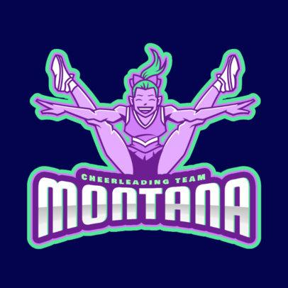 Online Logo Creator for a Cheerleading Team 2412d
