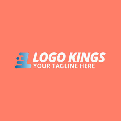 Logo Creator for a Company with an Abstract Icon 1531h-2404
