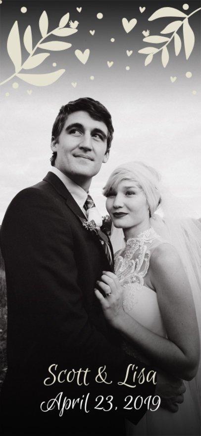 Romantic Snapchat Geofilter Maker for a Wedding 1668b
