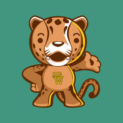 Mascot Maker for a Sports School Team 2381