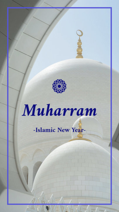 Instagram Story Template To Celebrate the Islamic New Year 1606e