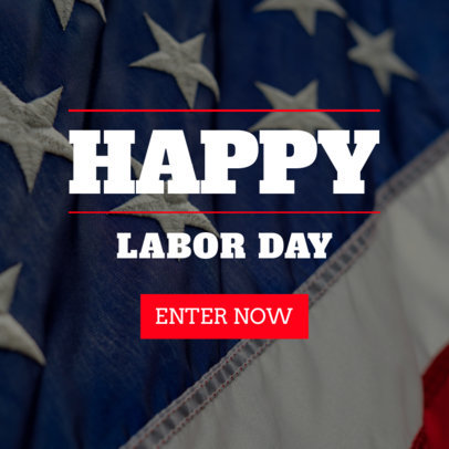 Banner Maker Celebrating Labor Day 751j-1692