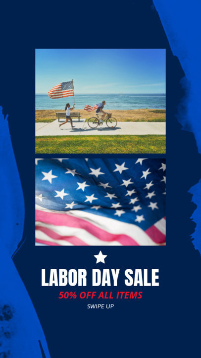 Instagram Story Template for a Special Labor Day Sale 963f 1690
