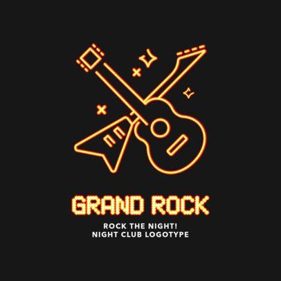 Nightclub Logo Creator for a Rock and Roll Bar 2414d