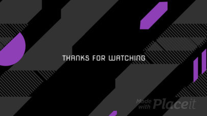 Twitch Banner Video Maker with a Cool Diagonal Loop Animation