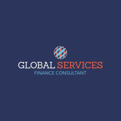 Finance Consultant Company Online Logo Creator 1175h-2443