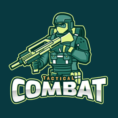 Team Logo Maker for Tactical Combat Games 2449i