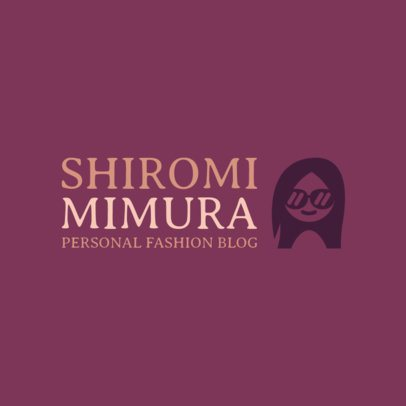 Logo Maker for Fashion Bloggers 1311a