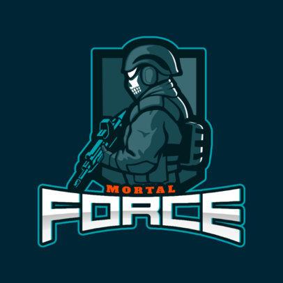 Counter-Strike-Inspired Gaming Logo Maker for a Shooting Team 2449k