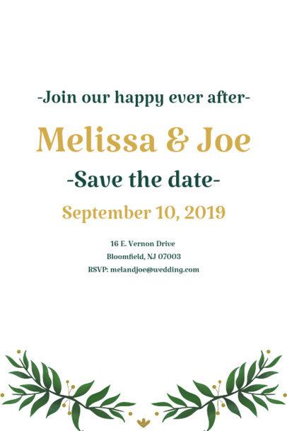 Invitation Card Maker for a Wedding 1685c