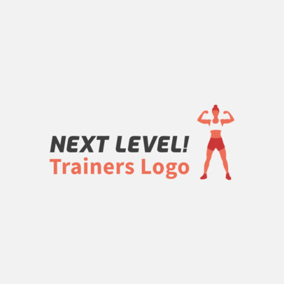 Fitness Training Company Logo Maker 2456d