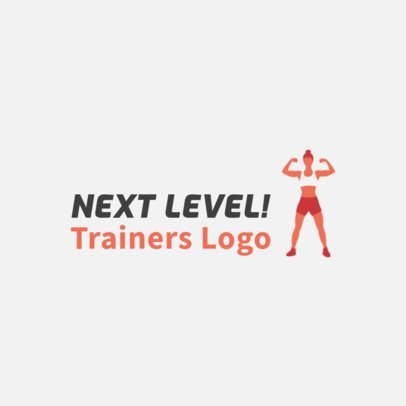 Fitness Training Company Logo Maker 2456d
