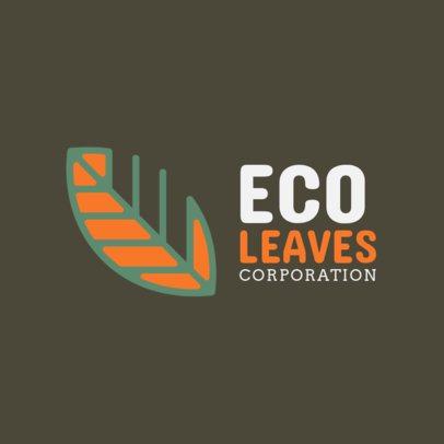 Logo Maker for an Ecological Corporation 1255f--2461