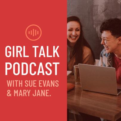 Podcast Cover Maker for Common Interest Topics 1718