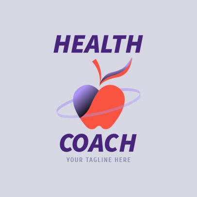 Logo Maker for a Health Coach Fitness Logo Maker with Modern Graphics 2459f