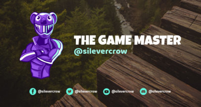 Fortnite-Style Twitch Banner Template 1735c--1727