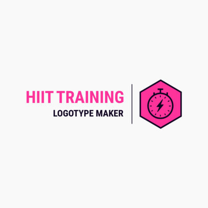 Fitness Logo Generator for Physical Trainers