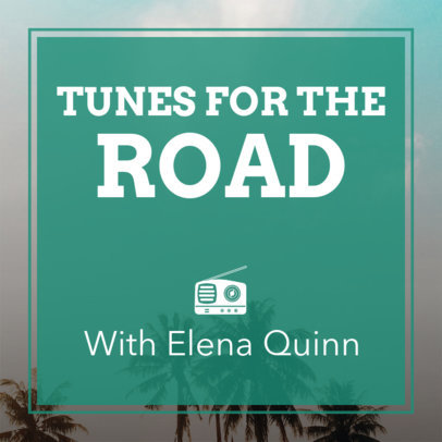 Podcast Cover Creator for Road Tripping 1722d