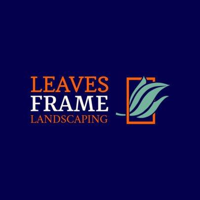 Minimalist Landscaping Logo Maker 1435h-2462