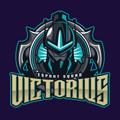 Gaming Logo Maker with a Mobile Legends Inspired Cyborg Illustration 2455L