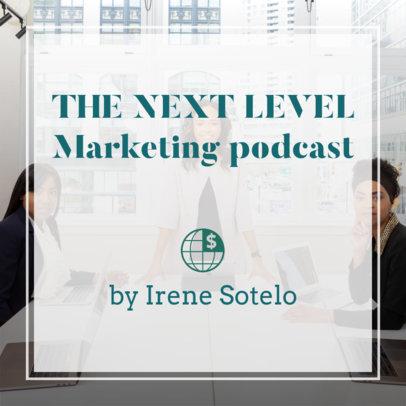 Podcast Cover Maker for Female Entrepreneurs 1722h