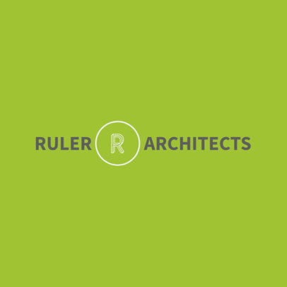 Architecture Firm Logo Maker Featuring a 3D Letter Clipart 1283g 2472