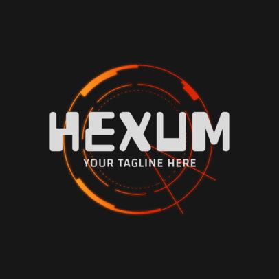 Gaming Logo Creator with a Futuristic Emblem 2479b