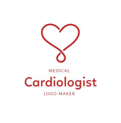 Online Logo Maker for a Cardiologist 2510