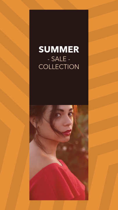 Instagram Story Maker for a Summer Collection Sale 967d--1762