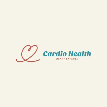Logo Maker for a Cardiovascular Clinic 2510d