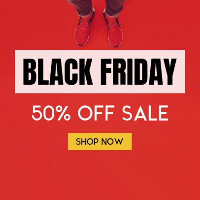 Black Friday Sale Banner Maker 748b
