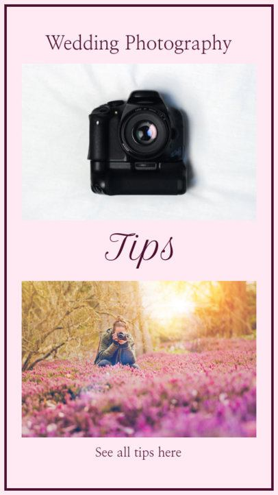 Insta Story Maker for Wedding Photography Tips 952a