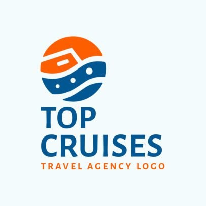 Logo Maker for a Cruise Company 2504f