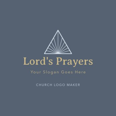 Minimalist Logo Maker for a Religious Community 1769f-2535