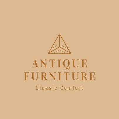Online Logo Maker for an Antique Furniture Store 1326g-2535