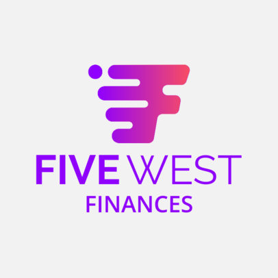 Logo Generator for a Finance Company with a Dynamic Graphic