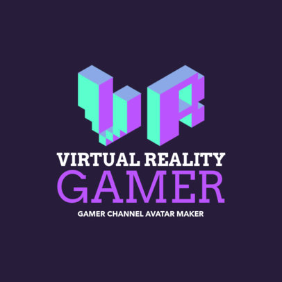 Monogram Logo Maker for a Virtual Reality Game 2554