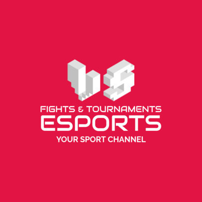 Monogram Logo Maker for an eSports Channel 2554a