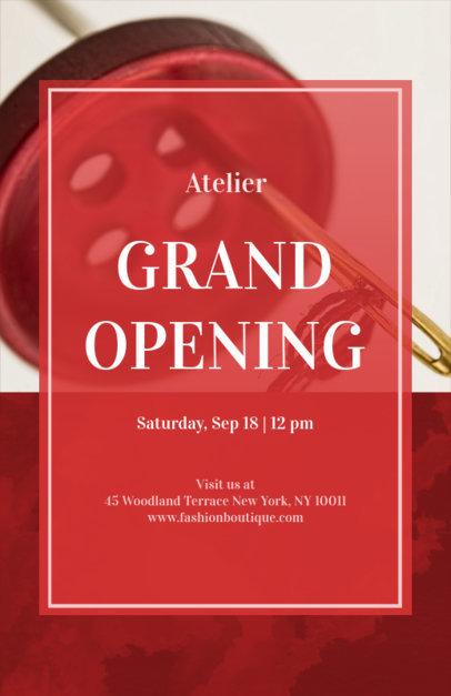 Grand Opening Online Flyer Maker 161a-1903