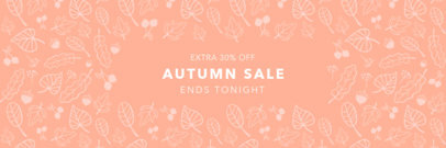 Facebook Cover Creator for an Autumn Sale 1766c