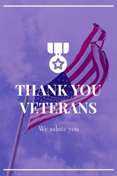Pinterest Pin Maker for a Veterans Day Commemoration 1121q-1804