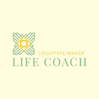 Minimalist Life Coaching Logo Maker 2552