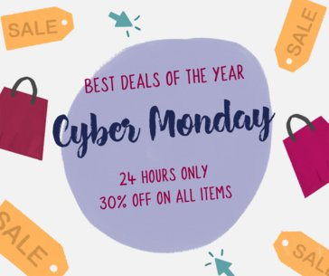 Facebook Post Maker for Cyber Monday Deals 637i-1798
