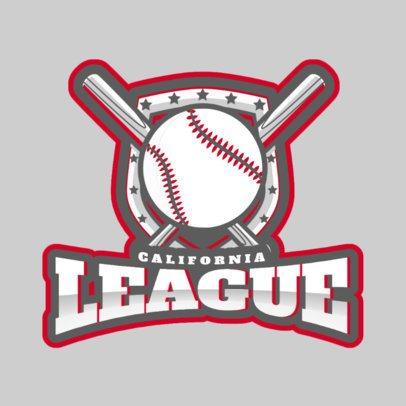 Baseball League Logo Maker 172p-2543