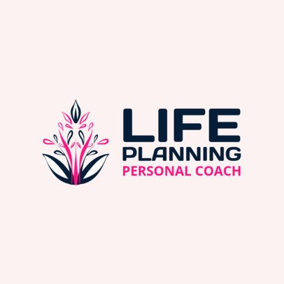 Abstract Logo Maker for a Life Coach 2551a