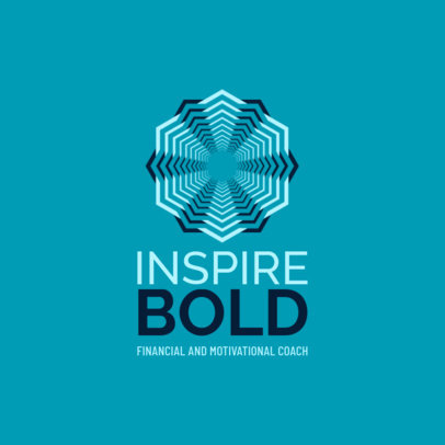 Abstract Logo Maker for a Motivational Coach
