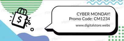 Twitter Header Maker for Cyber Monday Offers 1797